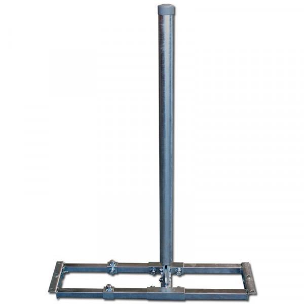 GigaBlue Dachhalter 4 Kant Rohr 60mm 100cm