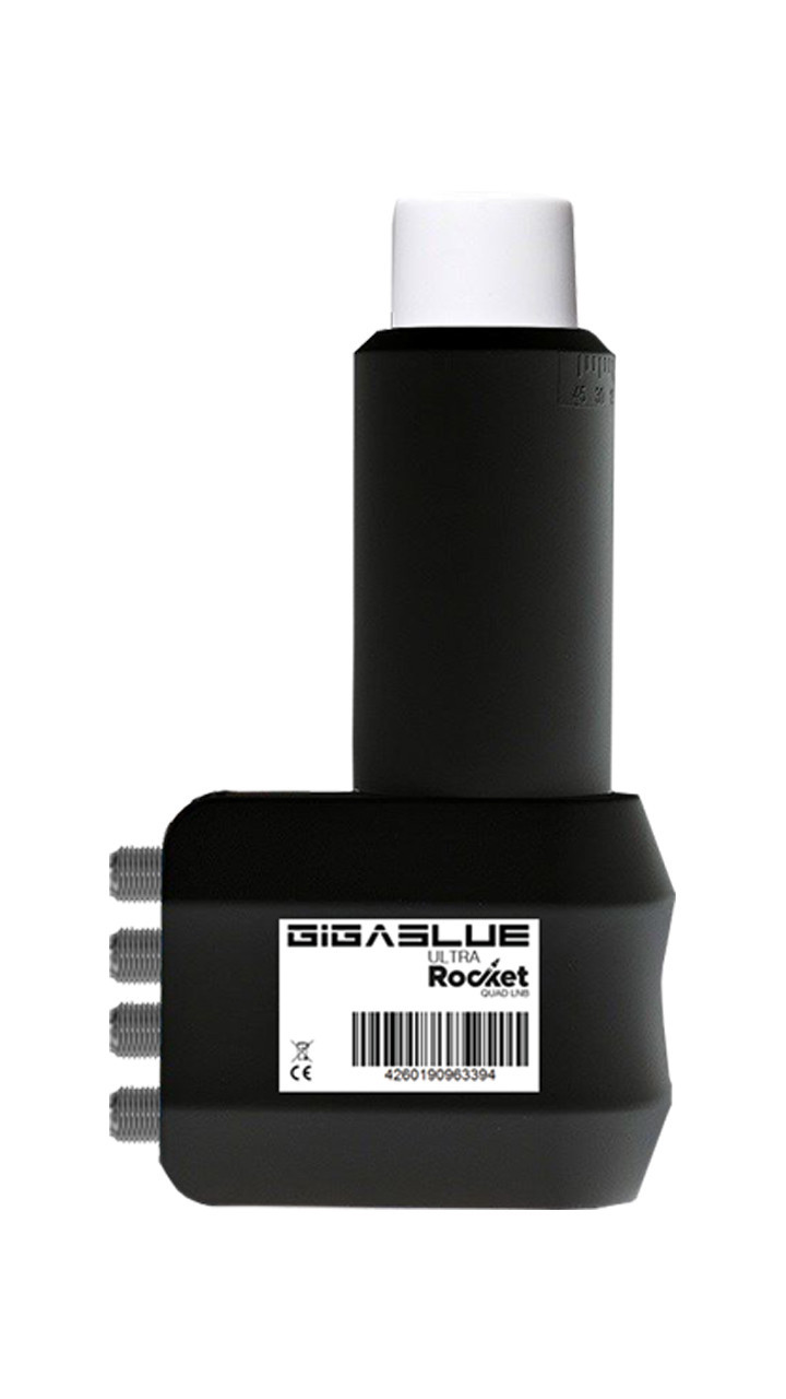 GigaBlue Ultra Rocket Quad LNB 0,1dB