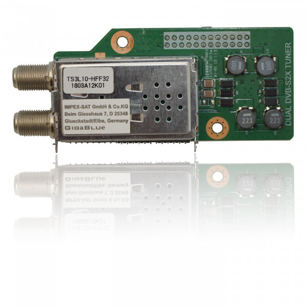 GigaBlue Dual DVB-S2x Tuner v.2