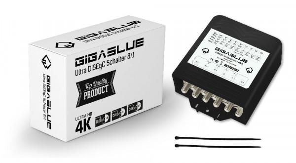 GigaBlue Ultra DiSEqC Schalter 8/1