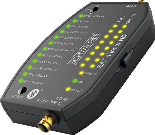 Schwaiger Sat Finder SF9003 BT + Akku Powerbank