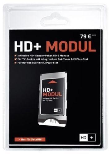 HD PLUS CI+ Modul für 6 Monate (inkl. HD+ Karte, geeignet für HD und UHD, für Satellitenempfang)