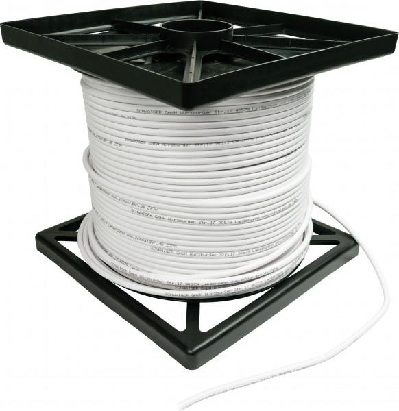 Sat-Kabel Schwaiger 250m 110dB Antennenkabel 7mm Verlegekabel Installeteur (Vollkupfer)