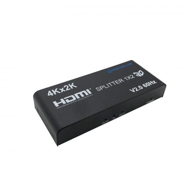 GigaBlue Ultra 4K *HDMI 2.0 HDR* Splitter 1in-2out 4K 60Hz
