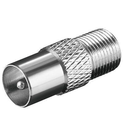 F-Kupplung IEC Männlich (10 Stück)